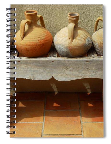 Amphoras  Spiral Notebook
