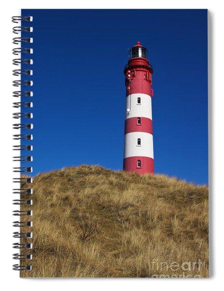Amrum Lighthouse Spiral Notebook