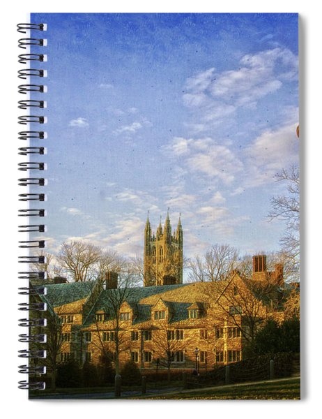 An Afternoon At Princeton Spiral Notebook