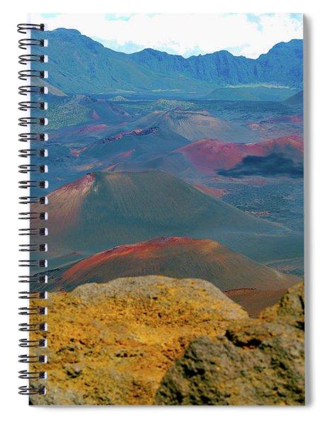 An Alien Landscape Spiral Notebook