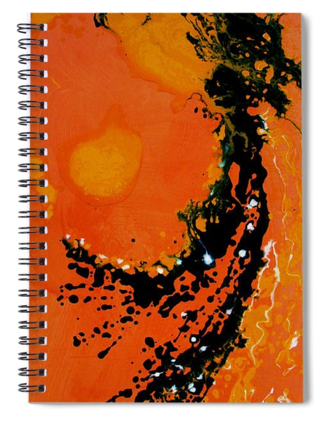 An Angel Breathing Love Into Life Spiral Notebook
