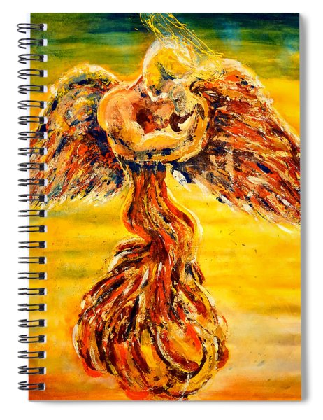 An Angels Love Spiral Notebook