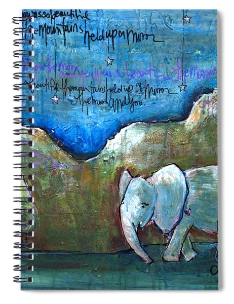 An Elephant For You Spiral Notebook