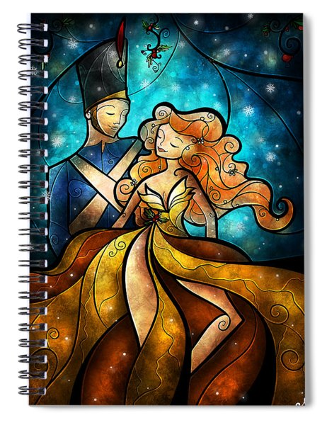 An Enchanting Evening Spiral Notebook