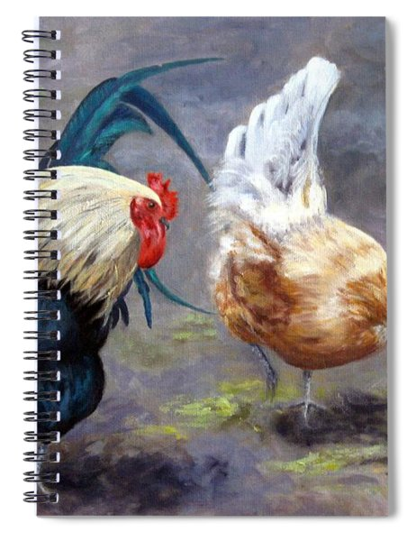 An Interesting Find Spiral Notebook