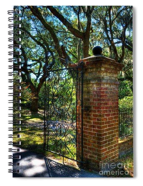 An Open Gate 2 Spiral Notebook