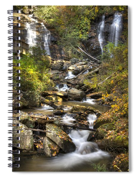 Ana Ruby Falls In Autumn Spiral Notebook