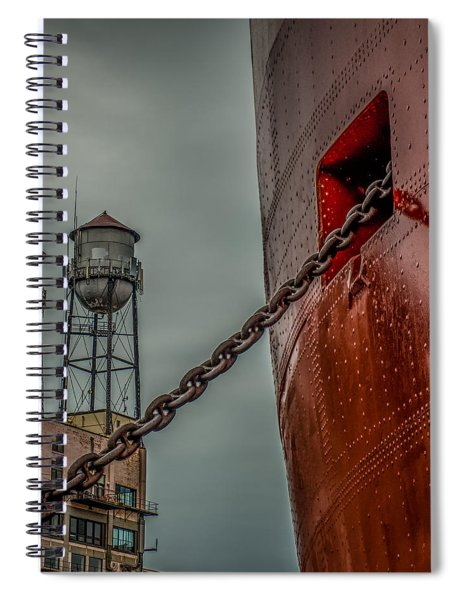 Anchor Chain Spiral Notebook