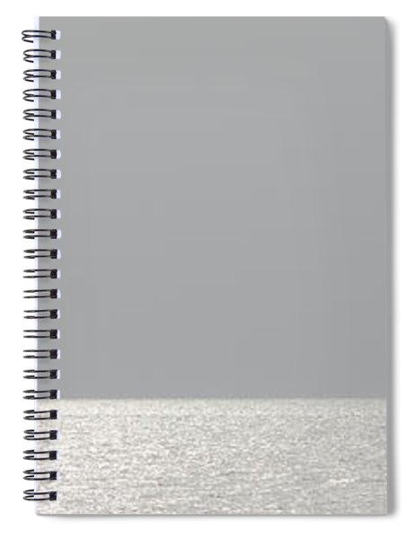 Spiral Notebook featuring the photograph Anchored by Ed Gleichman