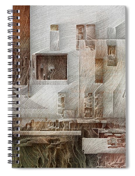 Ancient City 1 Spiral Notebook