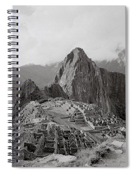 Ancient Machu Picchu Spiral Notebook