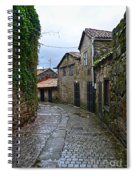 Ancient Street In Tui Spiral Notebook