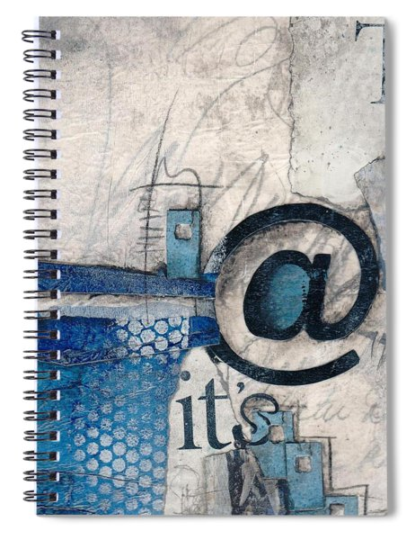 And It's Just Winter Drama  Spiral Notebook