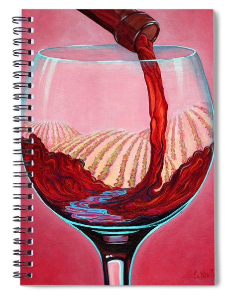 ...and Let There Be Wine Spiral Notebook