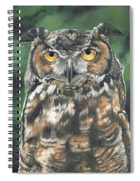 And You Were Saying Spiral Notebook