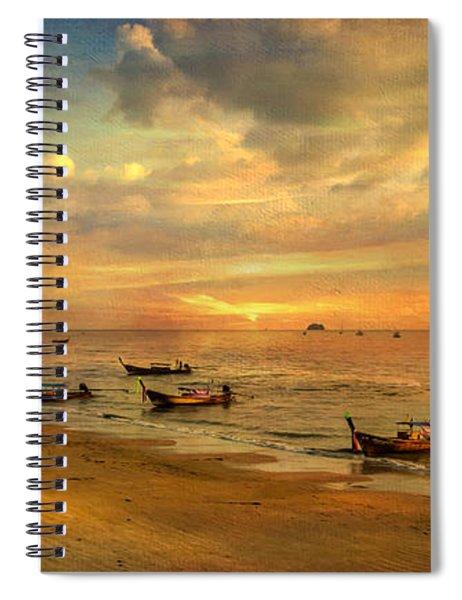 Andaman Sunset Spiral Notebook
