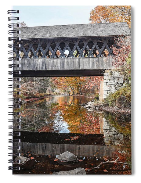 Andover Covered Bridge Nh 2 Spiral Notebook