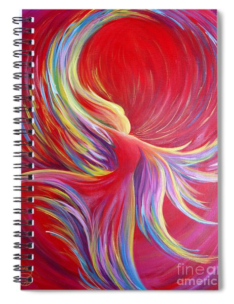 Angel Dance Spiral Notebook