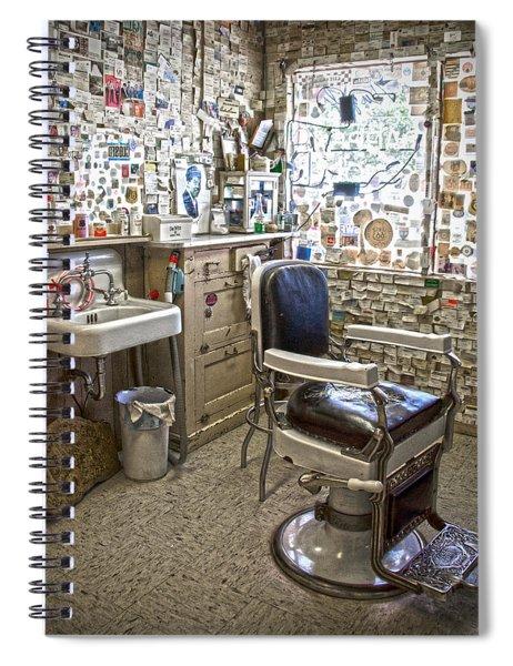 Angel Delgadillo's Barber Shop Spiral Notebook