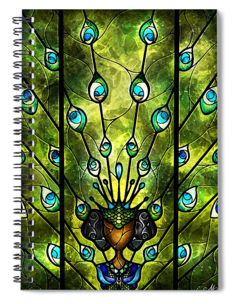 Angel Eyes Spiral Notebook