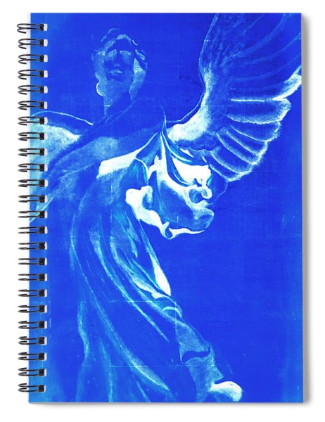 Angel Of The Horizon  Spiral Notebook
