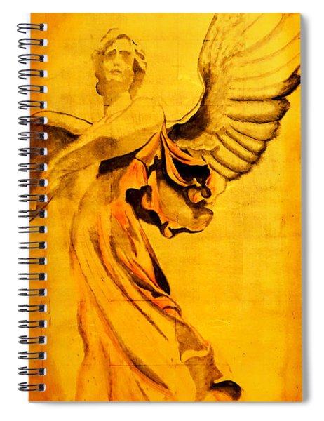 Angel Of The Horizon II Spiral Notebook