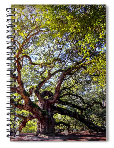 Angel Of Time Spiral Notebook