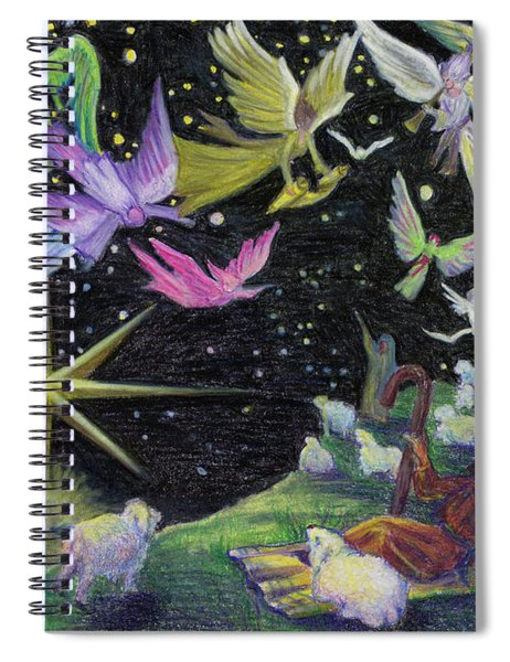 Angel Skies Spiral Notebook