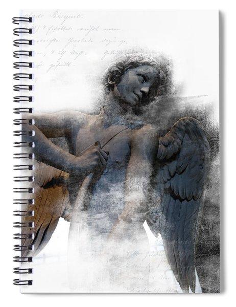 Angel Warrior Spiral Notebook