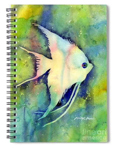 Angelfish I Spiral Notebook