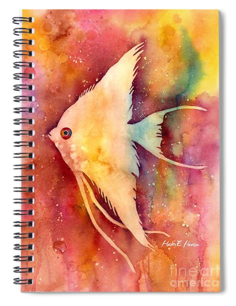 Angelfish II Spiral Notebook