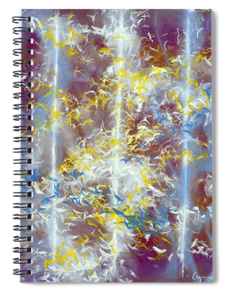 Angels At The Throne Of God Spiral Notebook