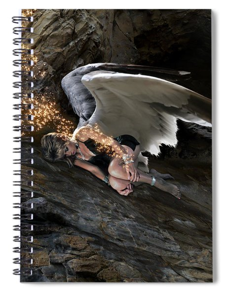 Angels- Call On The Name Of Jesus And Stand Still Spiral Notebook