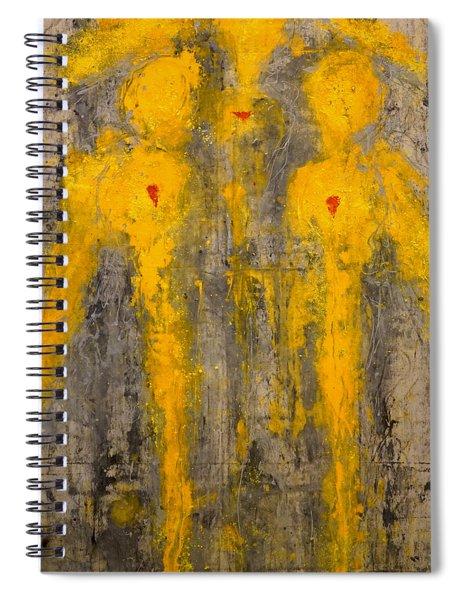 Angels I Have Seen Spiral Notebook