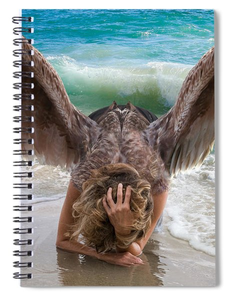 Angels- I Will Not Give Up On You Spiral Notebook