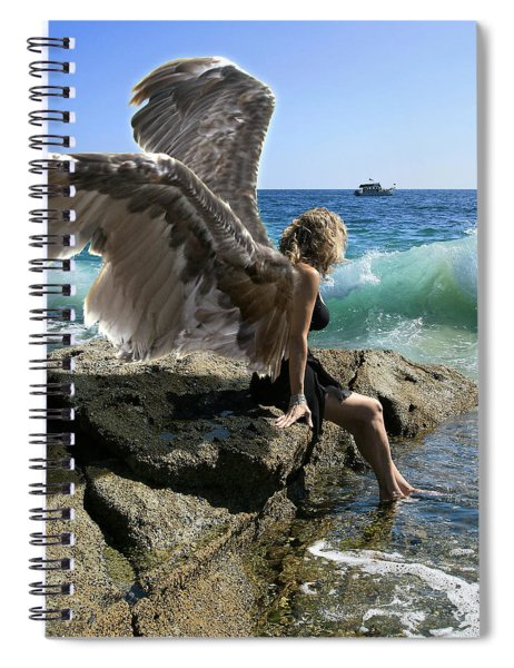 Angels- I'm Watching Over You Spiral Notebook