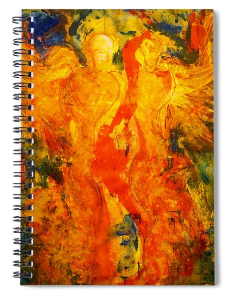 Angels Of Passion Spiral Notebook