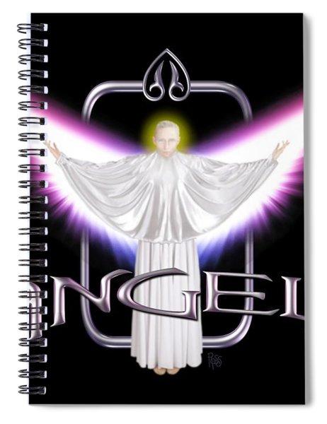 Angels Spiral Notebook