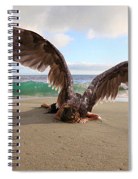 Angels- We Shall Not All Sleep Spiral Notebook