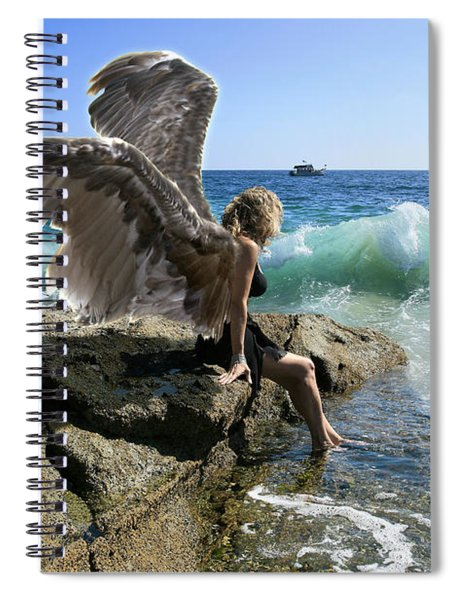 Angels- Yes I'm With You Spiral Notebook