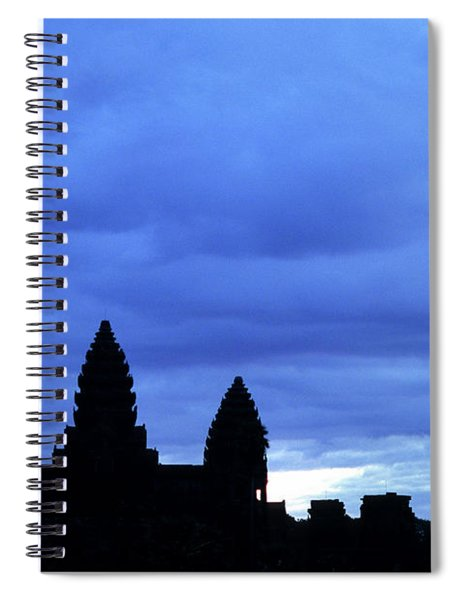 Angkor Wat Sunrise 01 Spiral Notebook