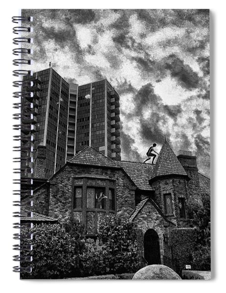 Angry House Spiral Notebook