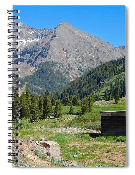 Animas Forks Jail Spiral Notebook
