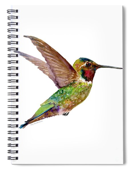 Anna Hummingbird Spiral Notebook