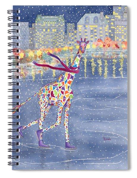 Annabelle On Ice Spiral Notebook