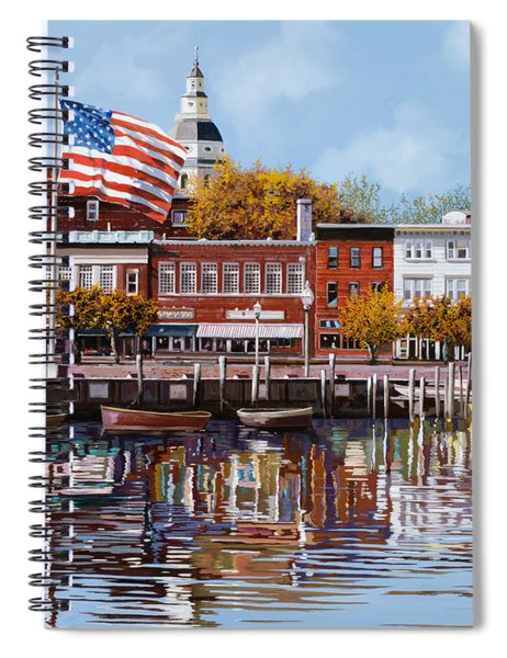 Annapolis Spiral Notebook