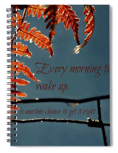 Another Chance Spiral Notebook