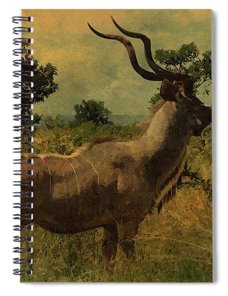 Antelope Spiral Notebook