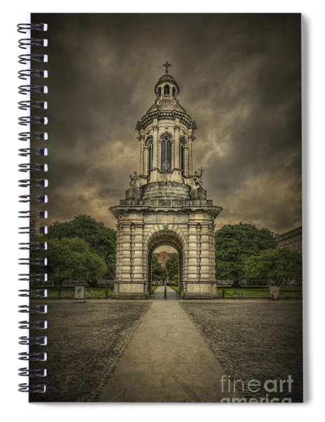 Anthem Of The Trinity Spiral Notebook