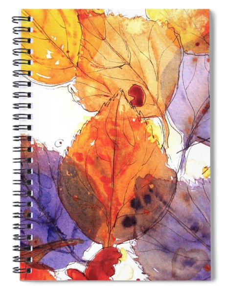 Anticipating Autumn Spiral Notebook